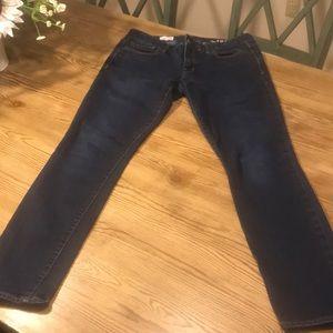 GAP 1969 Always Skinny Jeans 30r Dark Wash
